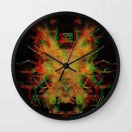 3D Mechanical Antelope Wall Clock