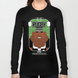 Rugby Black - Ruck Scrumpacker - Hayes version Long Sleeve T-shirt