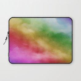 Watercolor of Rainbow Laptop Sleeve