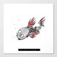 idiotfish 3 Canvas Print