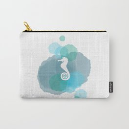 Under the Sea - Seahorse Carry-All Pouch