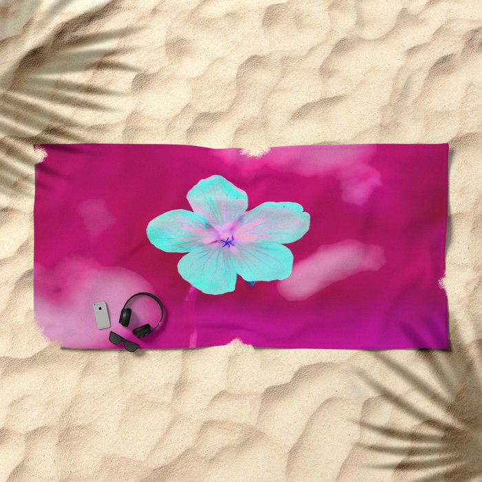 Colorful Flower #1 #decor Beach Towel
