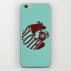 The Grizzly's Sin of Sloth iPhone & iPod Skin