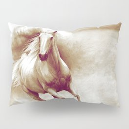 Horse in storm II. recolored version Pillow Sham