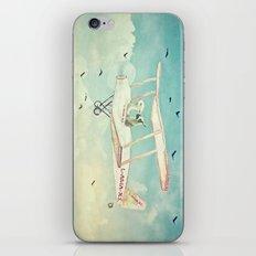 Never Stop Exploring III - THE SKY iPhone & iPod Skin