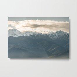 Mountains of Zakopane. || Tatry Mountains. || Travel Shots. Metal Print