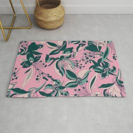 Clarice Floral_Pink Rug