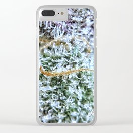 Platinum Purple Buds OG Kush x Purple Urkle Strains Clear iPhone Case