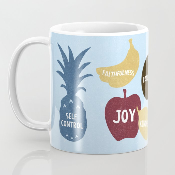 9 Fruits Coffee Mug
