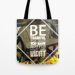 Be.. Tote Bag