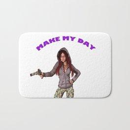 MAKE MY DAY Bath Mat