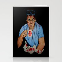 dexter Stationery Cards featuring Dexter by Lydia Dick