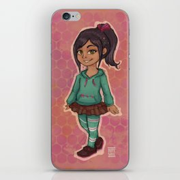 Vanellope Wrack it Ralph iPhone Skin