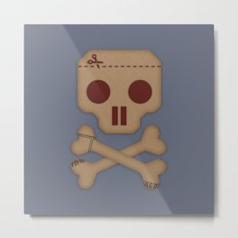 Paper Pirate Metal Print