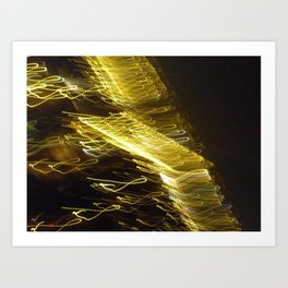 painting with light 6 Art Print