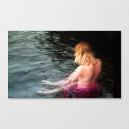 Sprite Soothes The Waters Canvas Print