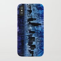 chicago iPhone & iPod Cases featuring chicago by Bekim ART