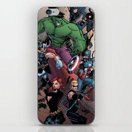 Marvelous Heroes iPhone Skin