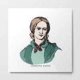 Charlotte Brontë Metal Print