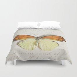 Hebomoia Glaucippe Lepidoptera Duvet Cover