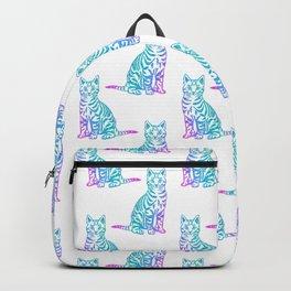 Rainbow Glitter Kitty Backpack