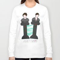 tegan and sara Long Sleeve T-shirts featuring Heartthrob [Tegan and Sara] by Canadiquin
