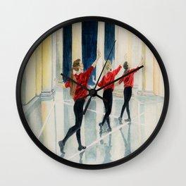 art imitating art Wall Clock