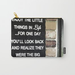 Front Door Quote Carry-All Pouch