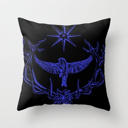 Vespertina Logo Throw Pillow