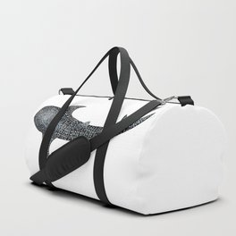 Whale shark for divers, shark lovers and fishermen Duffle Bag