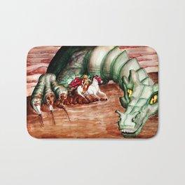 Saint George And The Dragon Bath Mat