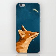 Fox and Stars iPhone Skin