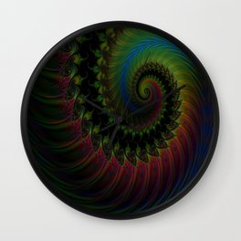 Twist Of Fate Wall Clock