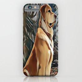 A Golden Retriever iPhone Case