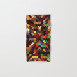 carly - vivid colourful playful modern abstract pattern Hand & Bath Towel