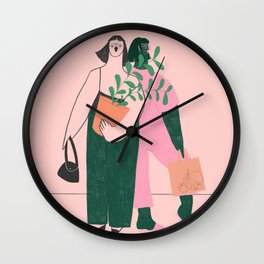 They Met at the Market Wall Clock