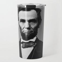 President Abraham Lincoln Travel Mug