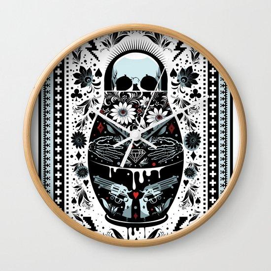 Russian Doll Wall Clock