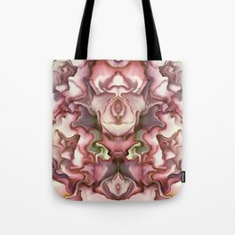 Abstract graphic mirror 5 Tote Bag