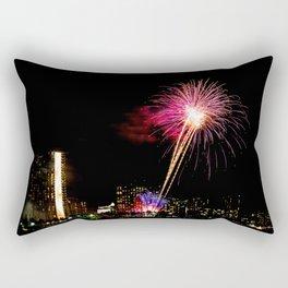 Friday Night Lights ... Waikiki Style Rectangular Pillow
