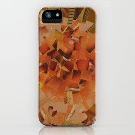 """""""The Hot Energy"""" Ecologic atypic art - 1/3 - by WHITEECO Ecologic design iPhone Case"""