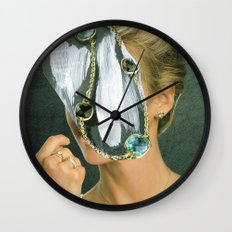 the disaster in her face 2 Wall Clock