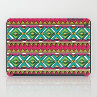 aztec iPad Cases featuring Aztec by Shelly Bremmer