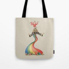 Rainbow {Weeeee} Tote Bag