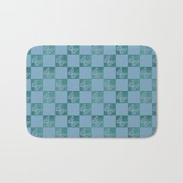 Butterfly Patch Bath Mat