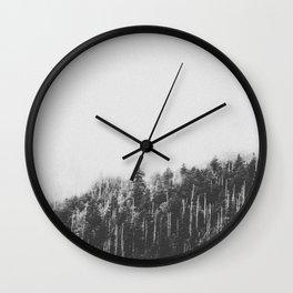INTO THE WILD XXVII / Great Smoky Mountains Wall Clock