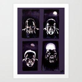 Howl Art Print