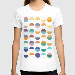 Color geometry T-shirt