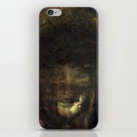 imagerybydianna iPhone & iPod Skins featuring reina, of moon and paper by Imagery by dianna