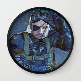 Solid Snake is a video game character and one of the primary protagonists of the Metal Gear series c Wall Clock